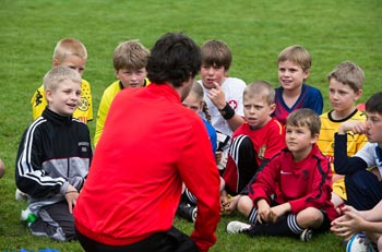 allenatore bambini