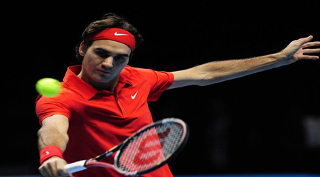 federer tecnica tennis